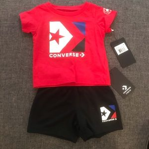12 month Converse outfit NWT